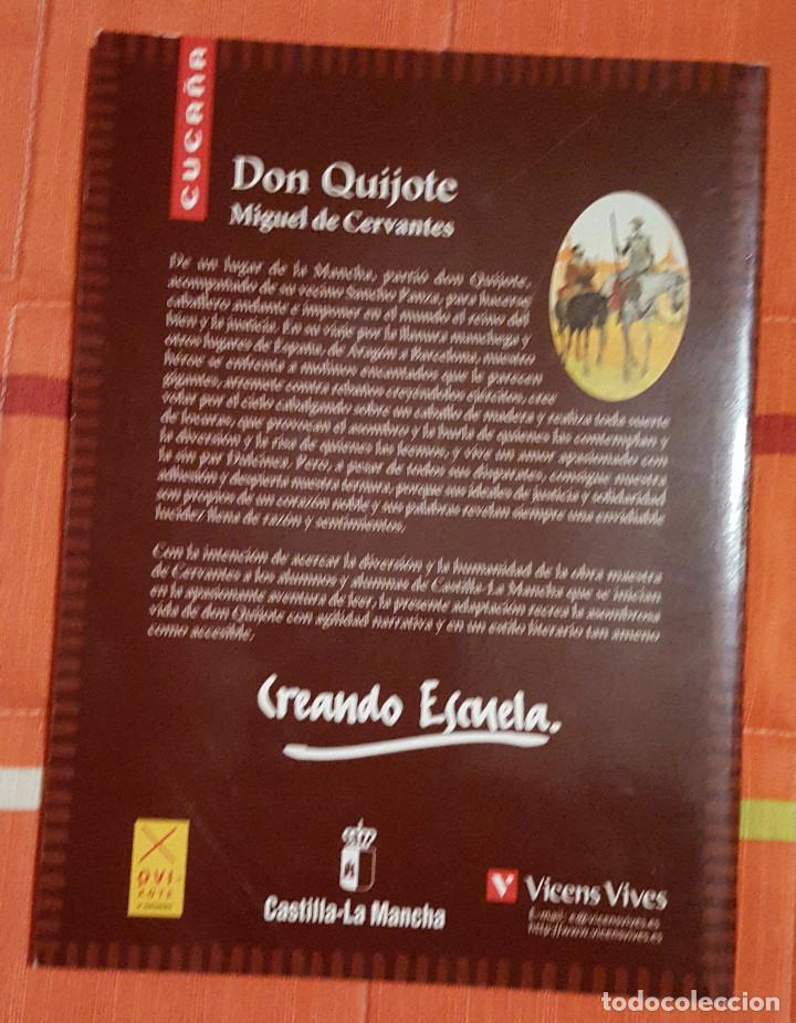 Libros antiguos: Don Quijote Miguel de Cervantes Adaptacion de Agustin Sanchez Aguilar - Foto 2 - 149048414