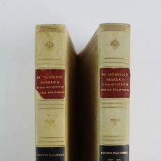 Libros antiguos: L-950. EL INGENIOSO HIDALGO DON QUIJOTE DE LA MANCHA, MIGUEL DE CERVANTES. 2 TOMOS. FACSIMIL 1608.. Lote 149114838