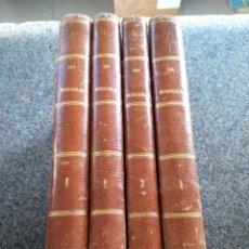 Libros antiguos: LOS MISERABLES -- VICTOR HUGO -- 4 TOMOS -- EDITORES GASPAR Y ROIG - MADRID 1863 -- . Lote 149511362