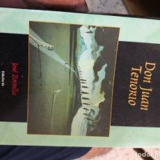 Libros antiguos: DON JUAN TENORIO. JOSÉ ZORRILLA EDICIONES BRUÑO. 9ª EDICIÓN . Lote 149747702