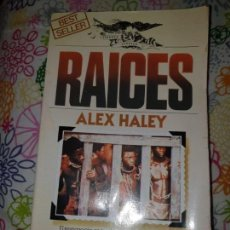 Libros antiguos: CLASICO LIBRO EN PERFECTO ESTADO DE RAICES DE ALEX HALEY (1979). Lote 149767194