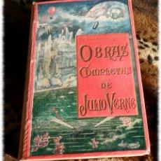 Libros antiguos: JULIO VERNE. OBRAS COMPLETAS (TOMO 5) ED. SAENZ DE JUBERA, HERMANOS. MADRID 1900-1910. Lote 150003418