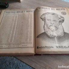 Libros antiguos: FANTÁSTICO TOMO DE NOVELAS Y CUENTOS (PRIMER SEMESTRE DE 1933). Lote 150126466