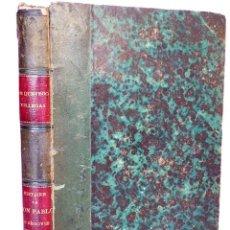 Libros antiguos: FRANCISCO DE QUEVEDO Y VILLEGAS - HISTOIRE DE DON PABLO DE SEGOVIE - EL BUSCÓN - PARÍS 1843. Lote 150843374