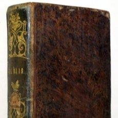 Libros antiguos: LESAGE, A-R - PADRE ISLA, TR. - HISTORIA GIL BLAS SANTILLANA (2 TOMOS EN UN VOL.) - BARCELONA 1846. Lote 151089938