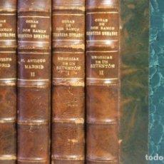 Libros antiguos: OBRAS DE D. RAMÓN MESONERO ROMANOS. 8 VOLÚMENES. 1925. EL CURIOSO PARLANTE.. Lote 151384774