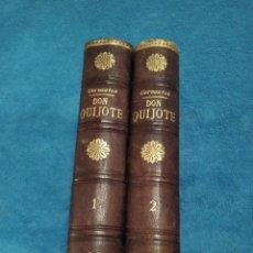 Libros antiguos: DON QUIJOTE ,2 TOMOS,ILUSTRACIONES DE GUSTAVO DORE , EDITA LUIS TASSO SERRA , ANTERIOR A 1900. Lote 151453472