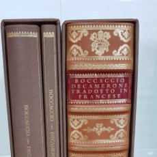 Libros antiguos: EL DECAMERÓN. 3 TOMOS. EDICIÓN ESPECIAL FACSÍMIL.BIBLIOTECA VATICANA. Lote 151976057