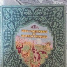 Libros antiguos: VIDA Y COSTUMBRES DE ALGUNOS ANIMALES, DALMAU CARLES, COLECCION NARRACIONES Y AVENTURAS, AÑO 1930. Lote 152178509