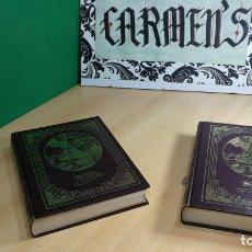 Libros antiguos: EL INGENIOSO HIDALGO DON QUIJOTE EN DOS MAGNIFICOS TOMOS. Lote 152234002