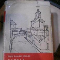 Libros antiguos: CARTAS, JUAN RAMON JIMENEZ, AGUILAR EDITORIAL. Lote 152277286