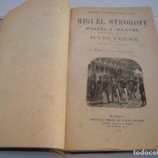 Libros antiguos: JULIO VERNE: OBRAS. BIBLIOTECA ILUSTRADA DE GASPAR Y ROIG / AGUSTÍN JUBERA / SAENZ DE JUBERA HNOS . Lote 152469446