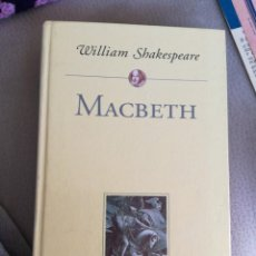 Libros antiguos: MACBETH , WILIAM SHAKESPEARE. Lote 152530366