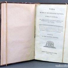 Libros antiguos: VIDA MIGUEL CERVANTES SAAVEDRA MARTÍN FERNÁNDEZ NAVARRETE QUIJOTE IMPREN REAL 1819 5 TOMOS COMPLETA. Lote 152761974