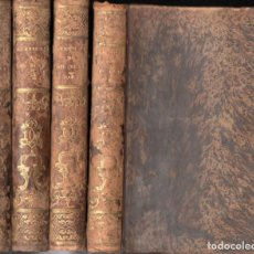 Old books - LESAGE : AVENTURAS DE GIL BLAS DE SANTILLANA (GORCHS, 1836) 4 TOMOS - 152906010