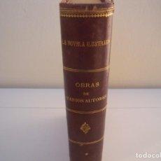 Libros antiguos: TOMO LA NOVELA ILUSTRADA VARIOS AUTORES. Lote 153104378