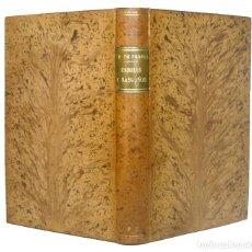 Libros antiguos: 1922 - JOSÉ M. DE PEREDA: ESBOZOS Y RASGUÑOS - PLENA PIEL - TRADICIONALISMO, COSTUMBRISMO, CANTABRIA. Lote 153332630