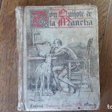 Old books - Don Quijote de la Mancha. Editorial Saturnino Calleja. Madrid, 1905 - 153443658