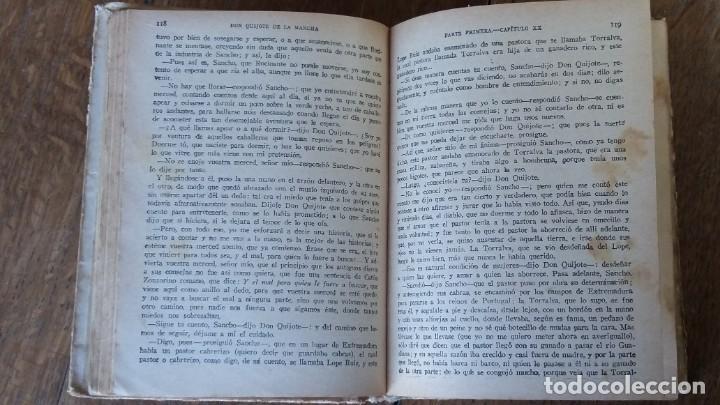 Libros antiguos: Don Quijote de la Mancha. Editorial Saturnino Calleja. Madrid, 1905 - Foto 5 - 153443658