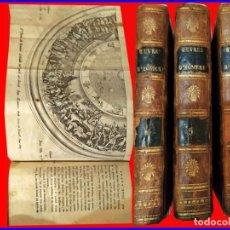 Libros antiguos: AÑO 1796: LA ILIADA, DE HOMERO. 3 TOMOS DEL SIGLO XVIII CON 2 ILUSTRACIONES DESPLEGABLES.. Lote 153783226