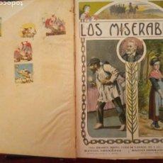 Libros antiguos: LIBRO LOS MISERABLES VICTOR HUGO. CASA EDITORIAL SOPENA. Lote 153930960