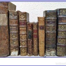 Libros antiguos: GRAN LOTE DE LIBROS DE LITERATURA DEL SIGLO XVIII.. Lote 153939882