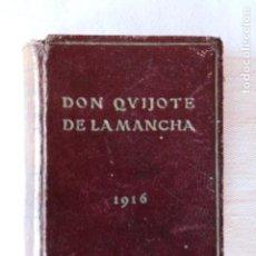 Libros antiguos: DON DON QUIJOTE DE LA MANCHA - TRES TOMOS - EDICIÓN EN MINIATURA 1916 - OBSEQUIO DE CASA ESCASANY. Lote 154161942