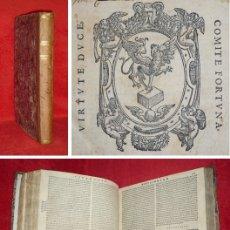 Libros antiguos: AÑO 1584 - 30CM - CICERON - LOS OFICIOS - DE LA VEJEZ - DE LA AMISTAD - PARADOJAS - SOLO 2 EN ESPAÑA. Lote 154217530