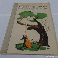 Libros antiguos: EL CONDE DE CAMORS- OCTAVIO FEUILLET- MANOLO PRIETO DISEÑADOR GRAFICO DEL TORO OSBORNE NOVELA LITER. Lote 154275614