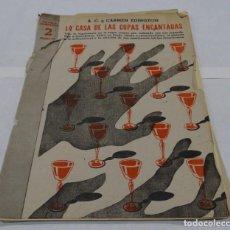 Libros antiguos: LA CASA DE LAS COPAS ENCANTADAS . A.C. Y CARMEN EDINGTON- . Lote 154276154