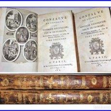 Libros antiguos: GONZALO DE CÓRDOBA. AÑO X DE LA ERA NAPOLEÓNICA. 2 TOMOS.. Lote 154705314