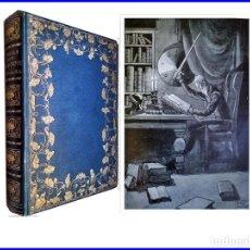 Libros antiguos: DON QUIJOTE DE LA MANCHA. ELEGANTE TOMO CON BELLAS ILUSTRACIONES DE MARRIOT. LONDRES.. Lote 154865414