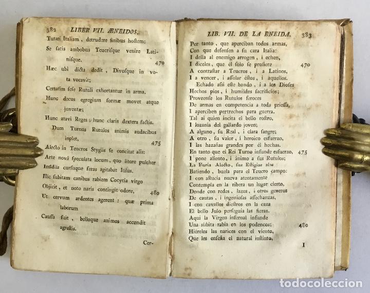 Libros antiguos: LA ENEIDA... Traducida en octava rima i verso castellano. - VIRGILIO MARON, Publio. VALENCIA, 1777. - Foto 4 - 155098982