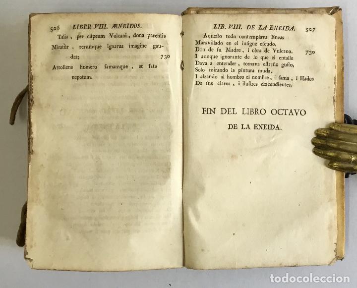 Libros antiguos: LA ENEIDA... Traducida en octava rima i verso castellano. - VIRGILIO MARON, Publio. VALENCIA, 1777. - Foto 5 - 155098982