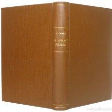 Libros antiguos: 1926 - FRANCISCO CAMBA: LA SIRENA RUBIA. NOVELA - PRIMERA EDICIÓN - LITERATURA ESPAÑOLA, NARRATIVA. Lote 199208193
