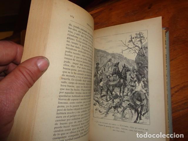 Libros antiguos: Picaresca Española - Vida del Escudero Marcos de Obregón - Holandesa Piel - Foto 4 - 155249582