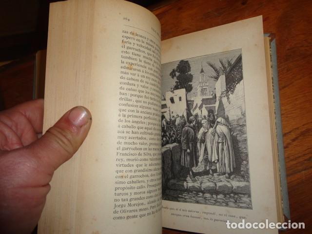 Libros antiguos: Picaresca Española - Vida del Escudero Marcos de Obregón - Holandesa Piel - Foto 5 - 155249582