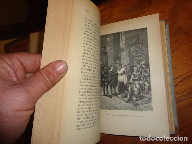 Libros antiguos: Picaresca Española - Vida del Escudero Marcos de Obregón - Holandesa Piel - Foto 6 - 155249582