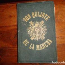 Libros antiguos: EL INGENIOSO HIDALGO DON QUIJOTE DE LA MANCHA. CERVANTES. GASPAR ROIG. MADRID, 1865.. Lote 155341218