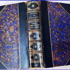 Libros antiguos: PRECIOSO LIBRO DEL SIGLO XIX CON OBRAS DE VÍCTOR HUGO. ELEGANTE ENCUADERNACIÓN. HERNANI,.... Lote 155530994