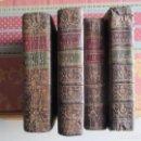 Libros antiguos: 1771-DON QUIJOTE DE LA MANCHA. MIGUEL DE CERVANTES. POR JOAQUÍN DE IBARRA.4 TOMOS, GRABADOS.ORIGINAL. Lote 155579458
