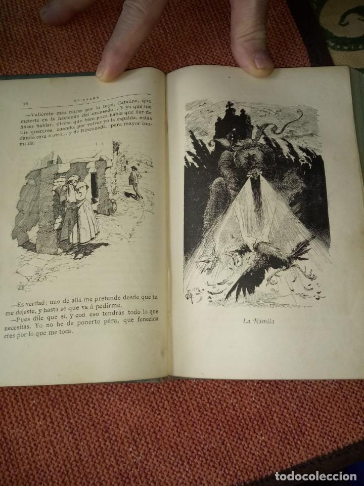 Libros antiguos: LIBRO. EL SABOR DE LA TIERRUCA, DE JOSÉ MARÍ DE PEREDA. 2º EDICIÓN. 1884. - Foto 3 - 155714222