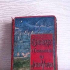 Libri antichi: OBRAS COMPLETAS DE JULIO VERNE. TOMO 4. FINALES SIGLO XIX. Lote 156201013