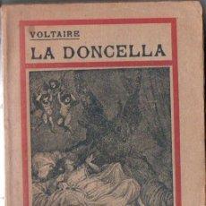 Libros antiguos: VOLTAIRE : LA DONCELLA (PROMETEO, 1919). Lote 156621818