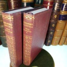 Libros antiguos: BIBLIOTECA DE AUTORES MODERNOS. OBRAS COMPLETAS DE ALEJANDRO CASONA. 2 TOMOS. AGUILAR. 1961.. Lote 156696902