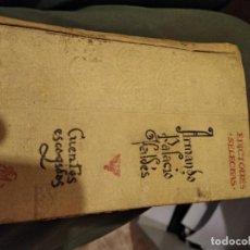 Libros antiguos: CUENTOS ESCOGIDOS . Lote 156765454