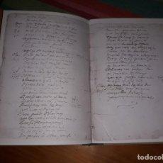 Libros antiguos: EL AGUA MANSA PEDRO CALDERON DE LA BARCA EDICIÓ FACSIMIL DEL MANUSCRIT AUTÒGRAF 1981. Lote 156884894