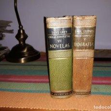 Libros antiguos: CLASICOS Y MODERNOS EDITORIAL JUVENTUD 2 LIBROS 1957-1959. Lote 157021098
