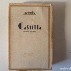 Libros antiguos: LIBRERIA GHOTICA. AZORÍN. CASTILLA. 1920. BIBLIOTECA NUEVA. MADRID.. Lote 157129874