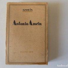 Libros antiguos: LIBRERIA GHOTICA. AZORÍN. ANTONIO AZORIN. 1920. BIBLIOTECA NUEVA. MADRID.. Lote 157130014